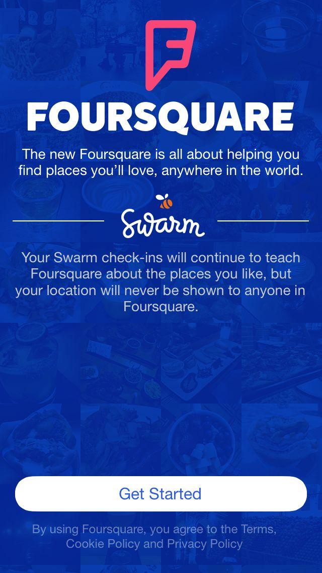 Foursquare & Swarm