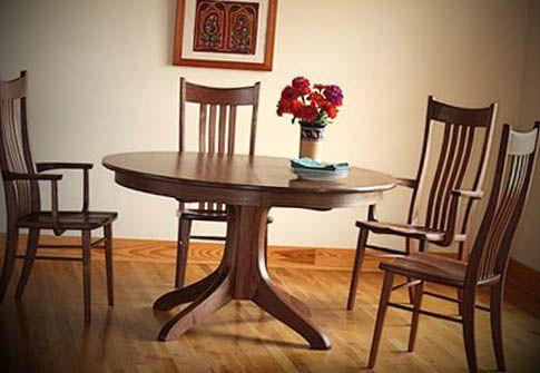 Mesas de madeira - http://dicasdecoracao.net/mesas-de-madeira/