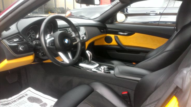 Bmw Z4 Interior With Limited Edition Atacama Yellow On