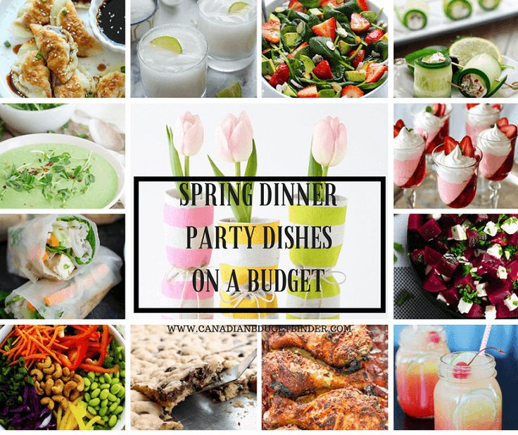 12 Must Try Spring Dinner Party Dishes On A Budget The Grocery Game Challenge 2017 3 Apr 17 23