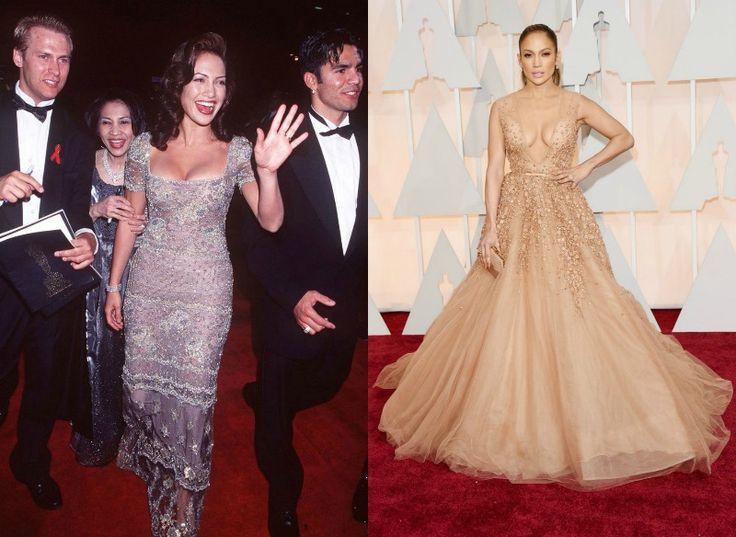 Celebrity na Oscarech tehdy a nyní - Jennifer Lopez