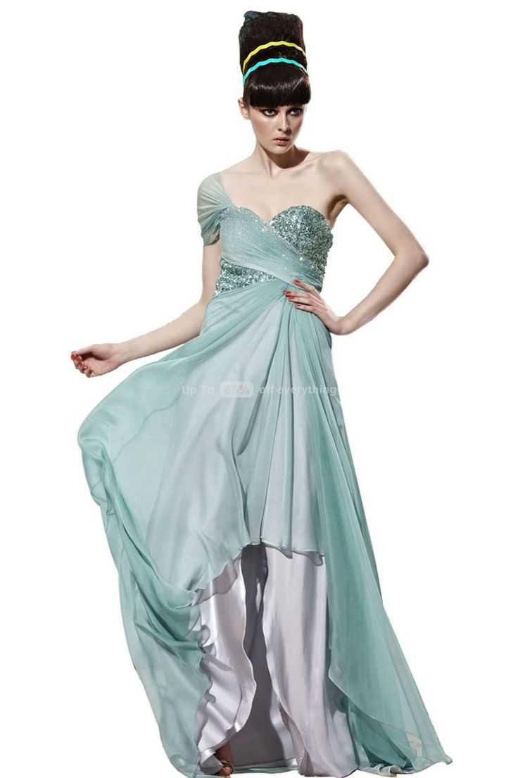 13 best Green Evening Dresses images on Pinterest | Prom dresses ...