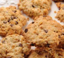 Recette - Cookies corn flakes et pépites de chocolat - Notée 4.3/5 par les internautes