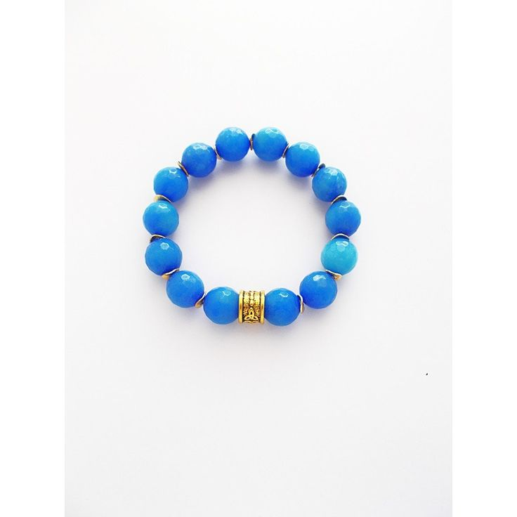 Rainy Skies Beaded Bracelet