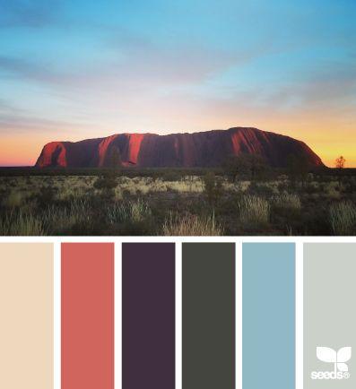 color view #paintpalettes #sunset