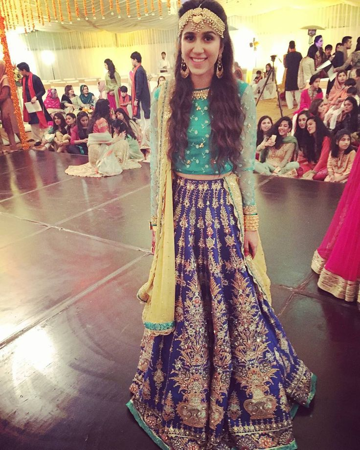 """#bride #sister #wedding #mehndi #traditional #signature #AliXeeshan #ensemble ."""