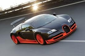 Bugatti Veyron - 268mph - I don't even need to own it. I just want to drive it.  Even once.