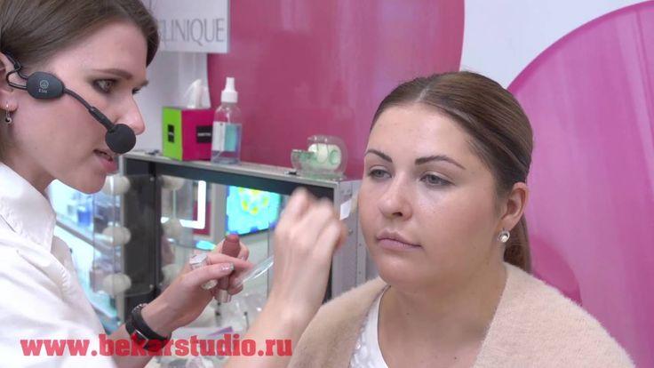 Полина Плешкова - яркие губы, выразительные брови (мастер-класс)