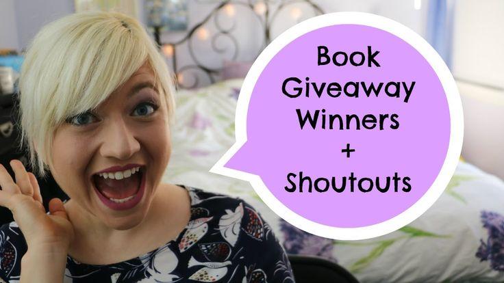 Book Giveaway Winners + Saturday Shoutouts
