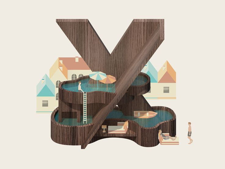 letter X by Jing Zhang