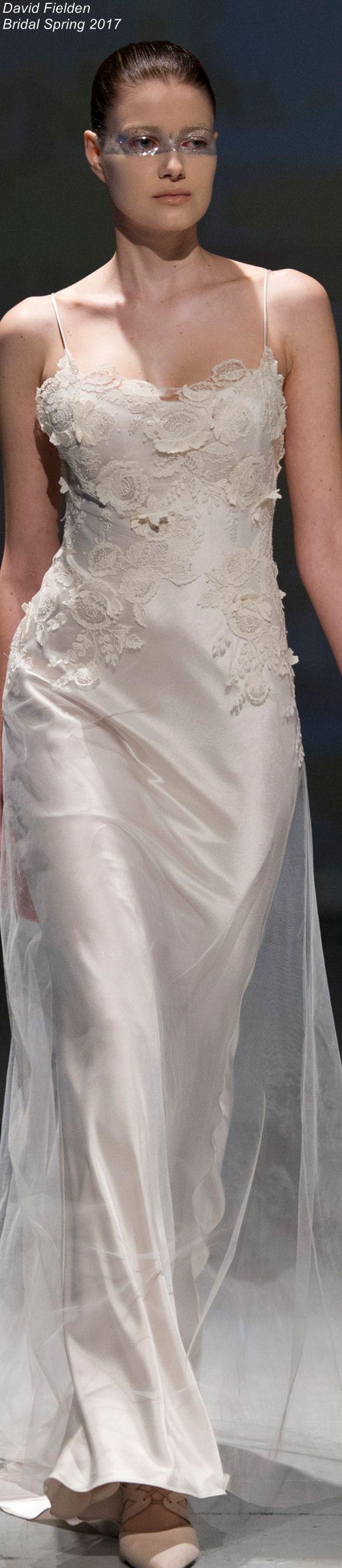 17 best David Fielden Wedding Dresses images on Pinterest   Short ...