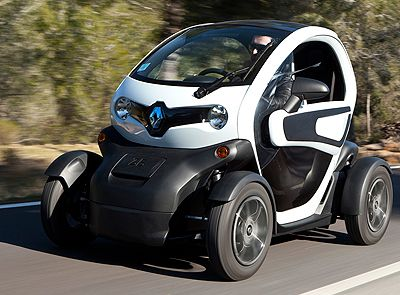 Good Renault Twizy (City Tiny Electric Future From Renault)