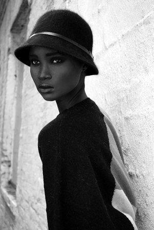 Waris Dirie.  Somalian Model, Mother, and women's activist. An inspiration