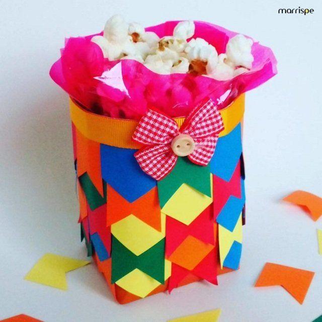 Enfeite de caixa de leite para aniversario