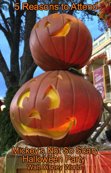 5 Reasons to Attend Mickey's Not So Scary Halloween Party at Walt Disney World's Magic Kingdom