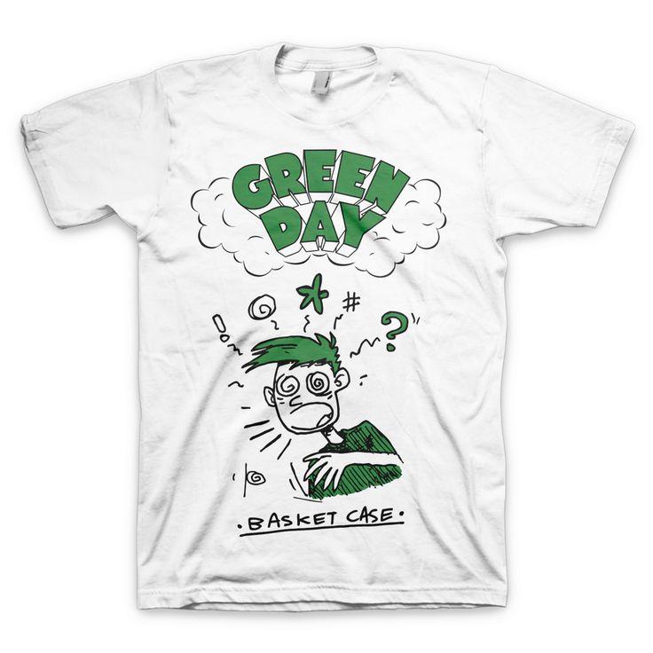 Basket Case T-Shirt – Green Day Store