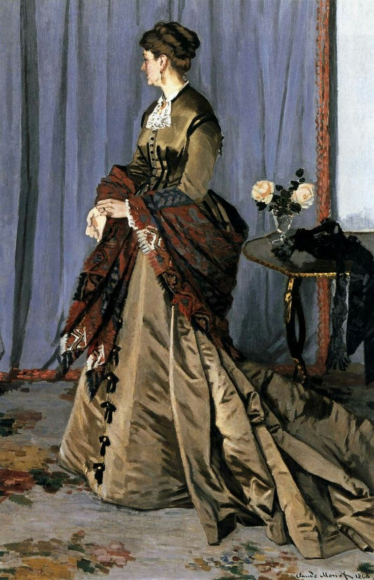 Madame Louis Joachim Gaudibert 1868 Oil on canvas, 217 x 139 cm Musée d'Orsay, Paris