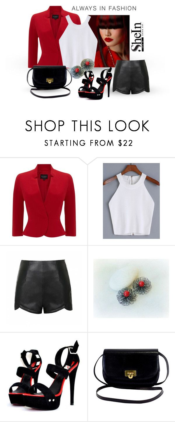 """Shein - Cami Top"" by styledonna on Polyvore featuring moda, Hobbs Invitation, Ally Fashion, Sheinside i shein"