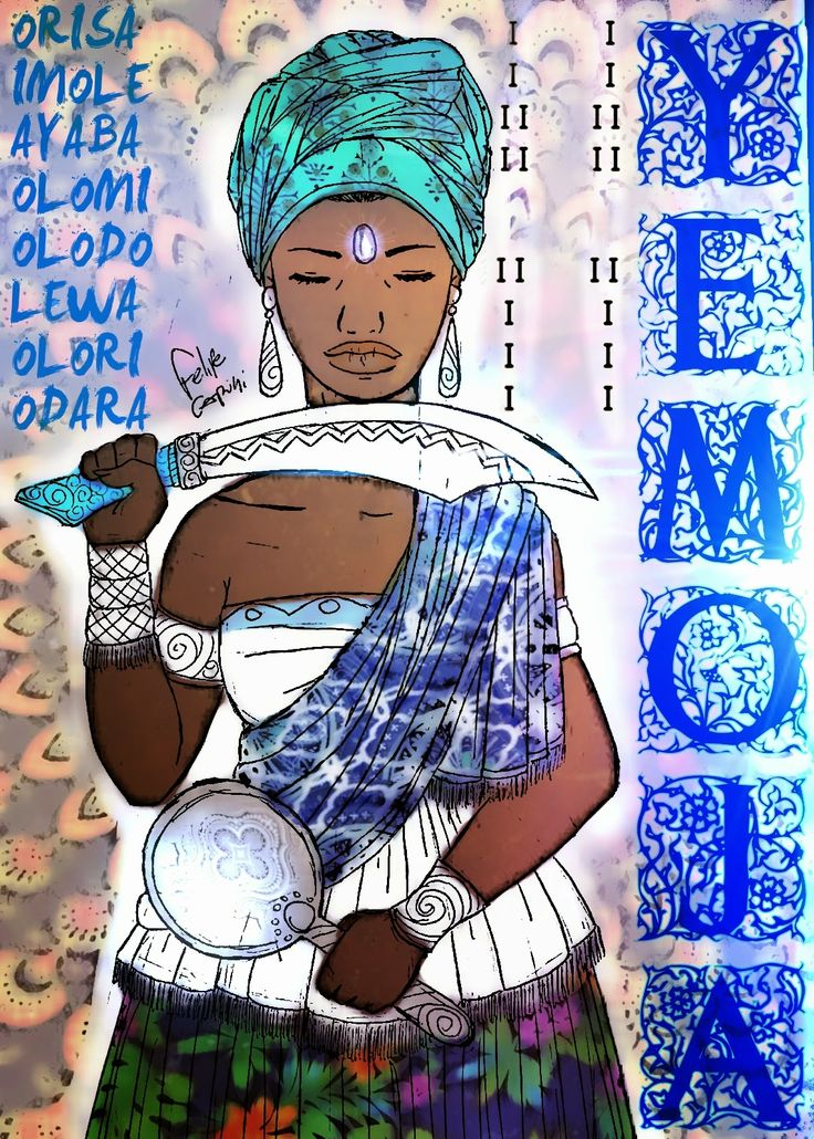 Os Poderosos Orishas : YEMOJA SE SACRIFÍCA PARA SALVAR OS FILHOS