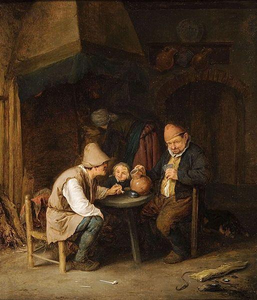 (1649) A Peasant Family in an Interior - Adriaen van ...