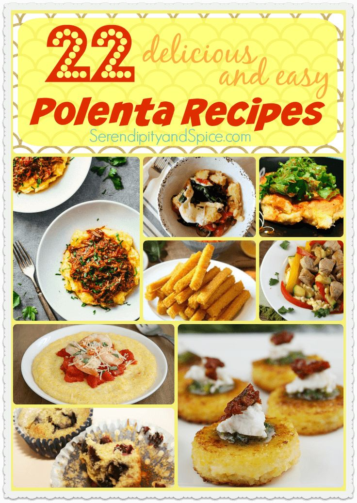 Delicious and Easy Polenta Recipes