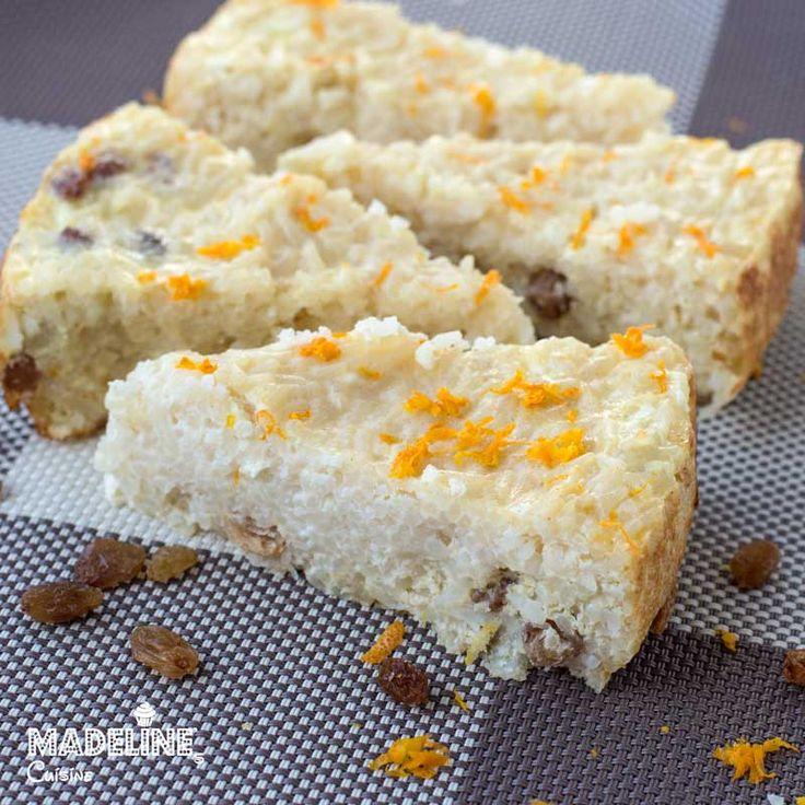 Budinca de orez la cuptor / Baked rice pudding