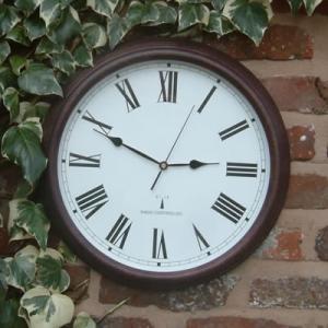 "Perfect Time Radio Controlled Garden Clock - 38cm (15"")"