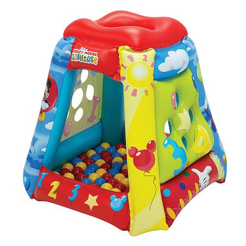 The Little Tikes Shady Jump 'n Slide bouncer is a backyard inflatable with an arching shade canopy for bouncy fun in the sun! This inflatable bouncer features a slide and large bounce area covered by a protective canopy.