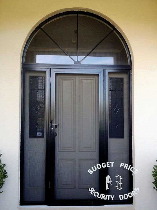 Good looking and safe stainless steel security Door With Two Side Panels & 23 best Stainless Steel Security Doors Melbourne images on Pinterest ...
