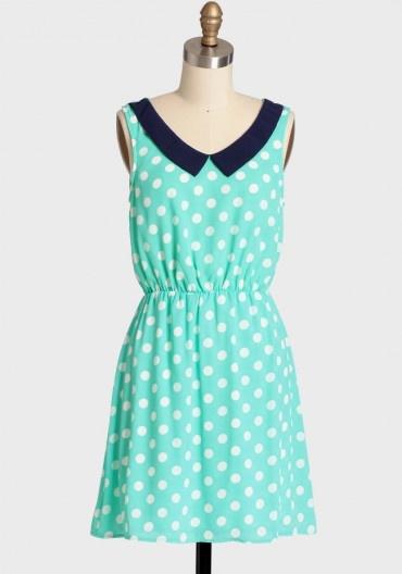 Forever Yours Polka Dot Dress