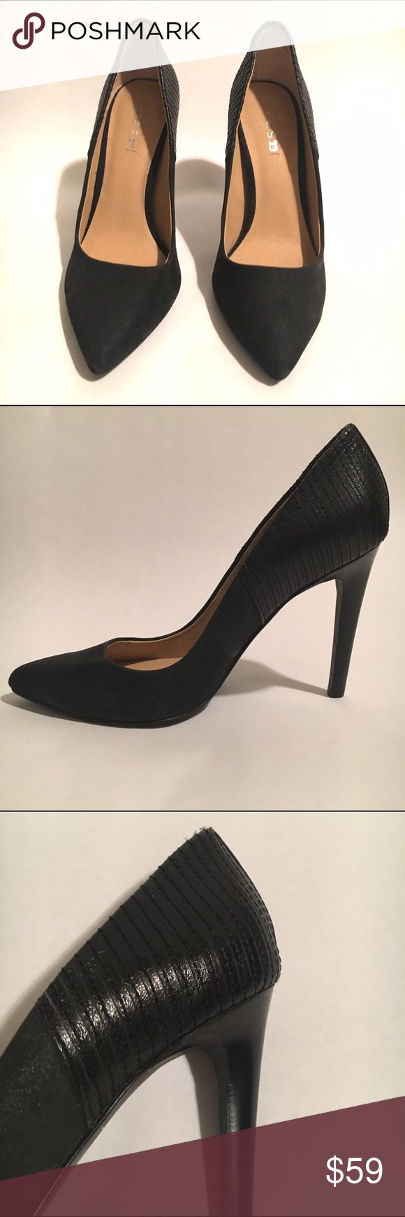"JOE'S JEANS Black Suede Pumps Size 6 JOE'S JEANS black suede pumps. 4"" inch heels. Never worn. Joe's Jeans Shoes Heels"