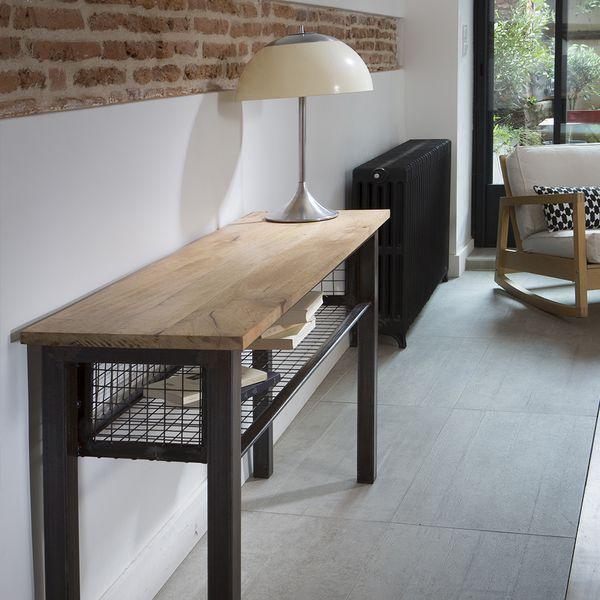 30 best Meuble metal et bois Guibox images on Pinterest   Furniture ...