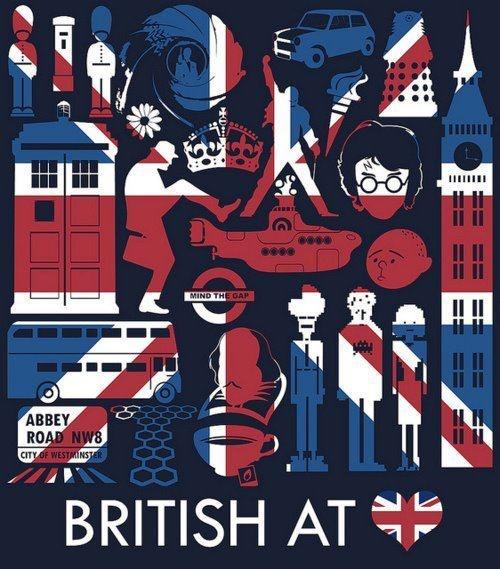 British @ <3