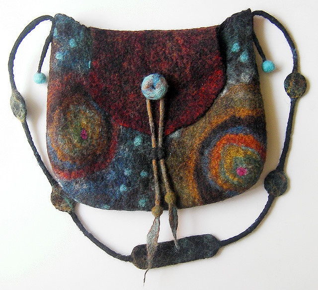 felt bag. love the handle too.