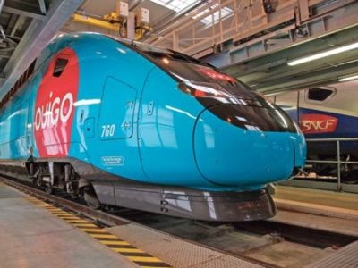 The TGV (French: Train à Grande Vitesse, high-speed train ...