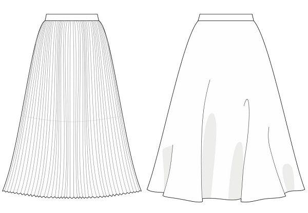 Saias midi são tendência no inverno 2014 - Industria Textil e do Vestuário - Textile Industry - Ano VI