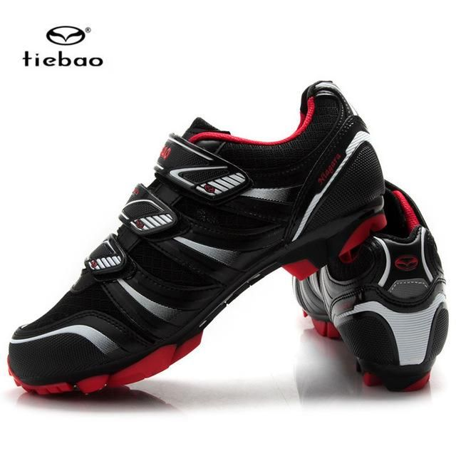 Tiebao Brand Cycling Shoes MTB Calzado Ciclista Ultralight Mens Breathable Shoes For Racing Zapatos De Ciclismo De Carretera