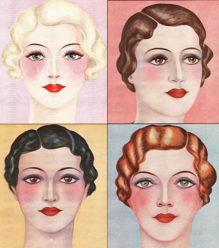 Kiss-and-Make-Up---1930s-MAKEUP-GUIDES                                                                                                                                                                                 More