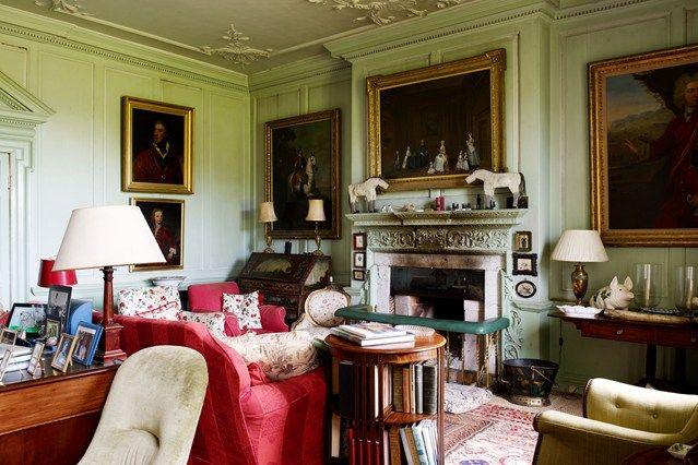 Englischen Cottage Wohnzimmer