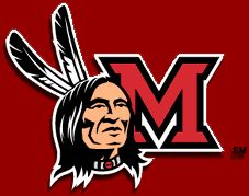 Miami University Of Ohio Redskin Before They Changed To More Politically Correct RedHawks In 1997
