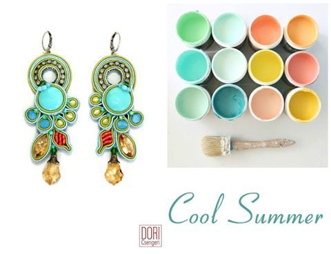 It's a cool summer with Dori's Celeste earrings! #DoriCsengeri #ss2016 #fashionaccessories #springtrends #trendyearrings