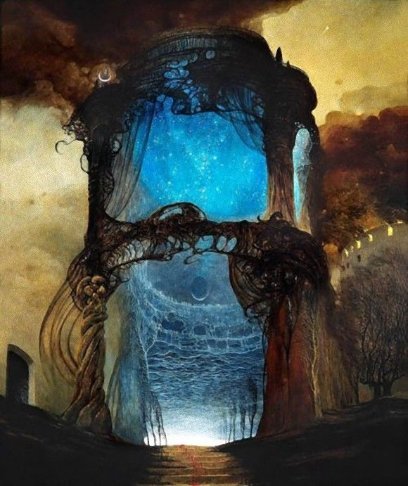 1414 best images about zdzislaw beksinski on pinterest for Gothic painting ideas