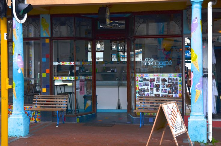 Greeting by this quaint shop as you leave The Brass Bell. #Mosaic #KalkBay #CapeTown