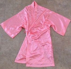 Victoria Secret Women's Pink Silk Robe Sz s M C   eBay