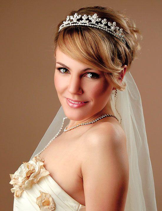 Wedding Hairstyles For Short Hair Women's