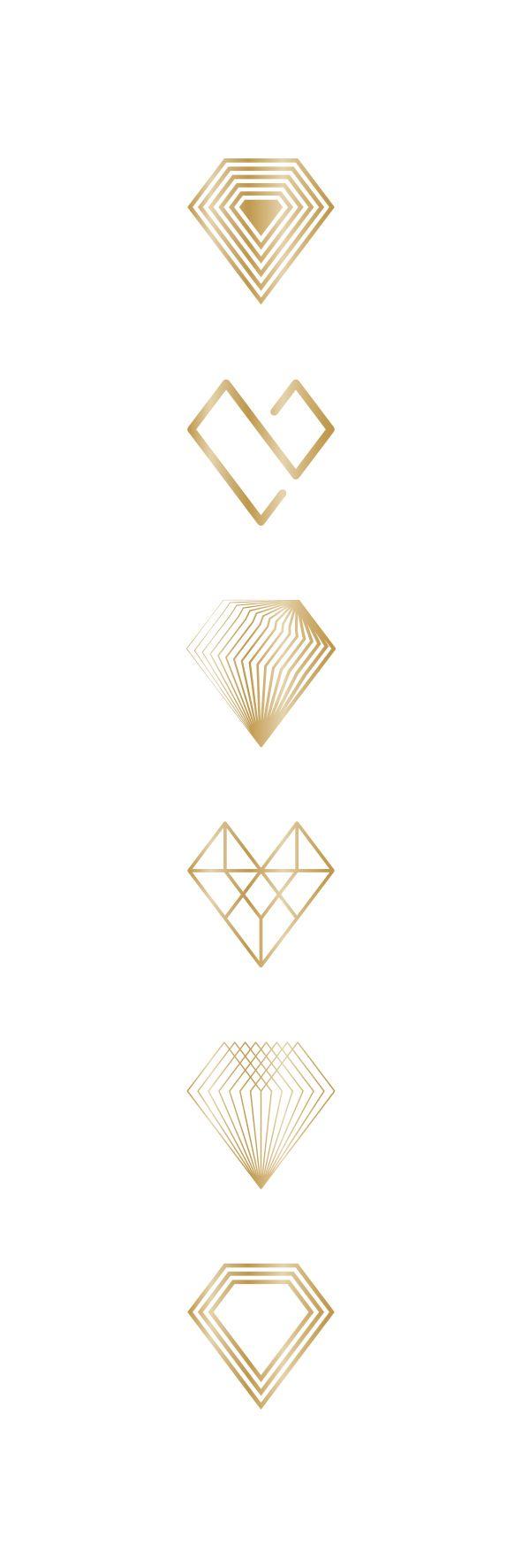 best 25 diamond logo ideas on pinterest jewelry logo diamond between heart diamond on behance more