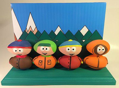 SOUTH PARK (TV SHOW) EGG ART CREATION 1-of-a-kind! - A MUST SEE!