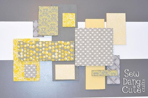 DIY Styrofoam Wall Art...http://thediyclub.com/2011/06/tams-styrofoam-wall-art-collage/