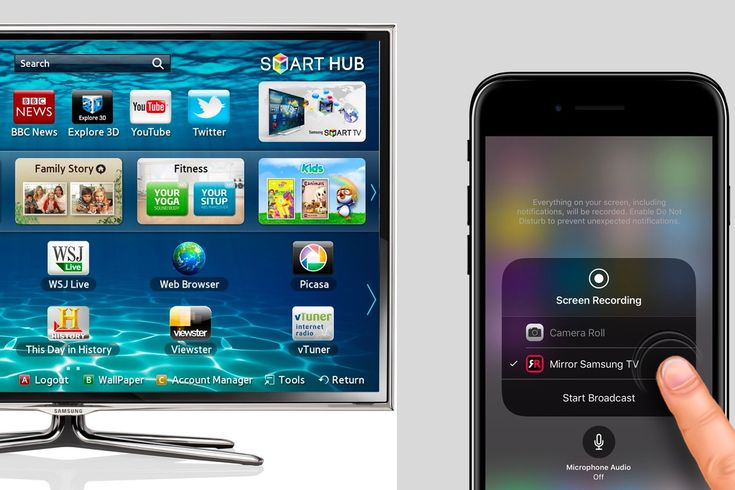 how to set up airplay on samsung smart tv
