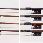 Fiddlestick Bow Shop: Margaret Adie, of Fiddlestick Bow Shop, is a trained bow maker and has extensive schooling in doing all repairs and restorations on bows for violin, viola, 'cello and double bass. I consider a good rehair an art form and of great importance to the health of the bow. The shop has a wide selection of bows for sale! Bows for all players, fiddlers to classical. Colored bow rehairs are also available. Fiddlestick Bow Shop is located in a downtown Austin neighborhood. (SOCO)